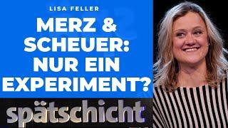 Lisa Feller zerstört die politische Männerwelt