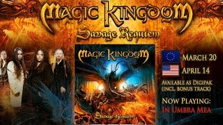 MAGIC KINGDOM - Savage Requiem (2015) // official album trailer // AFM Records