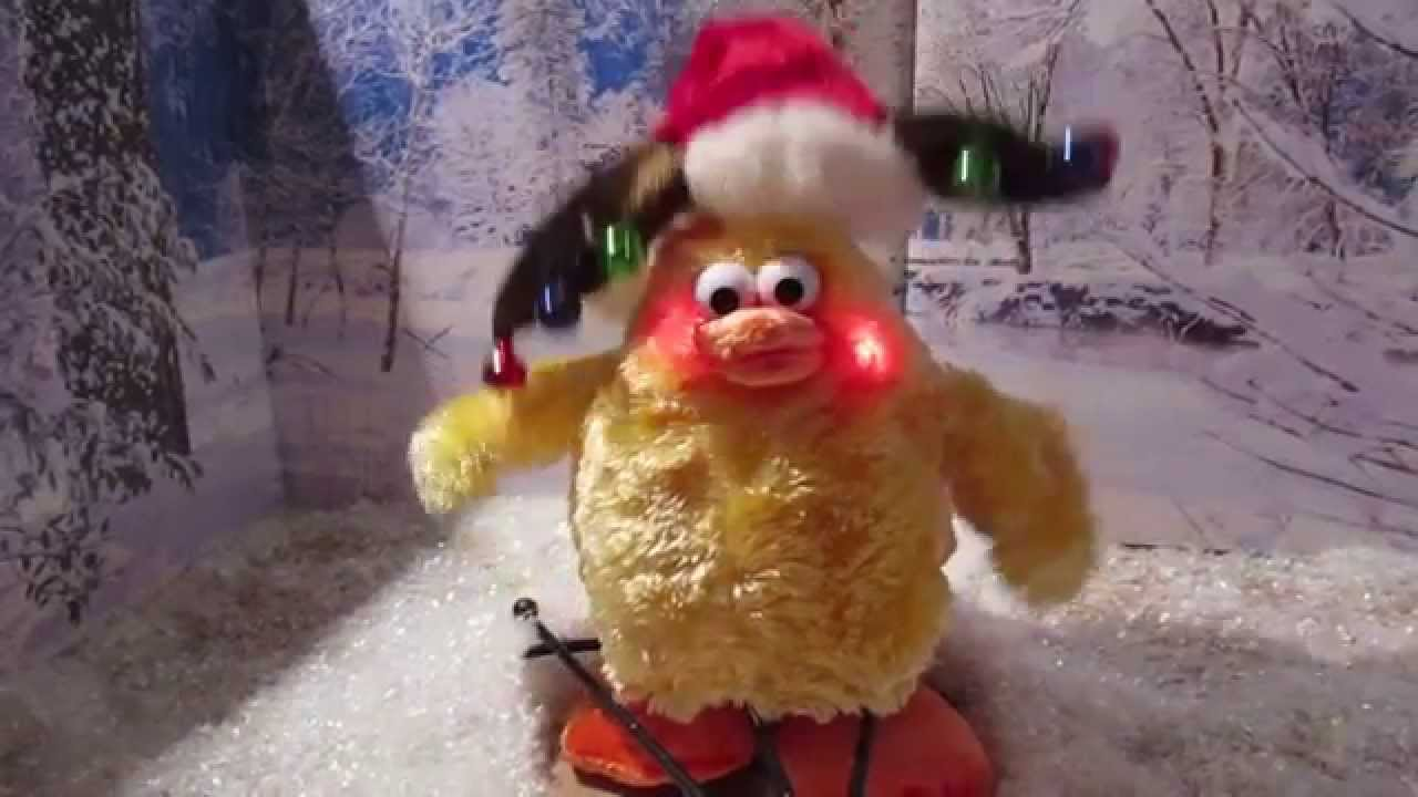 Animated Chicken Dances To We Wish You A Merry Christmas YouTube