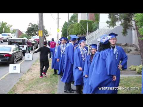 2016 Graduation at Seattle Lutheran High School