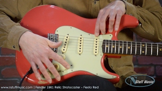 Fender 1961 Relic Stratocaster - Fiesta Red
