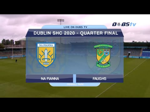 Na Fianna v Faughs- 2020 Dublin Senior A Hurling Championship Quarter Final
