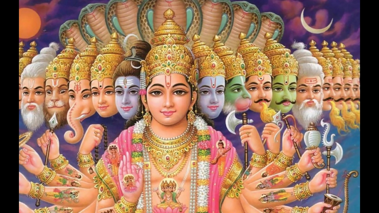 Best Good Morning Greetings Wishes With Lord Vishnu Wallpapers