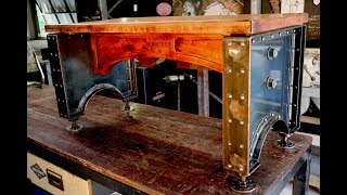Industrial Bench Seat - FORME INDUSTRIOUS