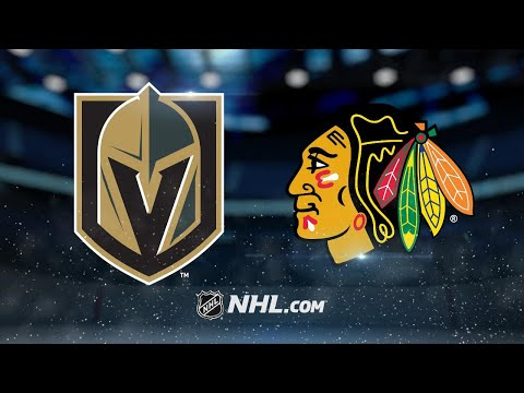 Smith nets game-winner as Vegas takes down Blackhawks