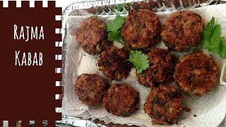 Rajma Kebab  (Red Kidney Bean Kebab) - Recipe by Foodie