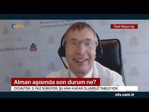 Alman aşısında son durum ne? (Alman Federal Aşı Enstitüsü Başkanı NTV'ye konuştu