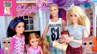 Barbie Babysitting New Lol Surprise Lil Sister Doll with Sister Skipper