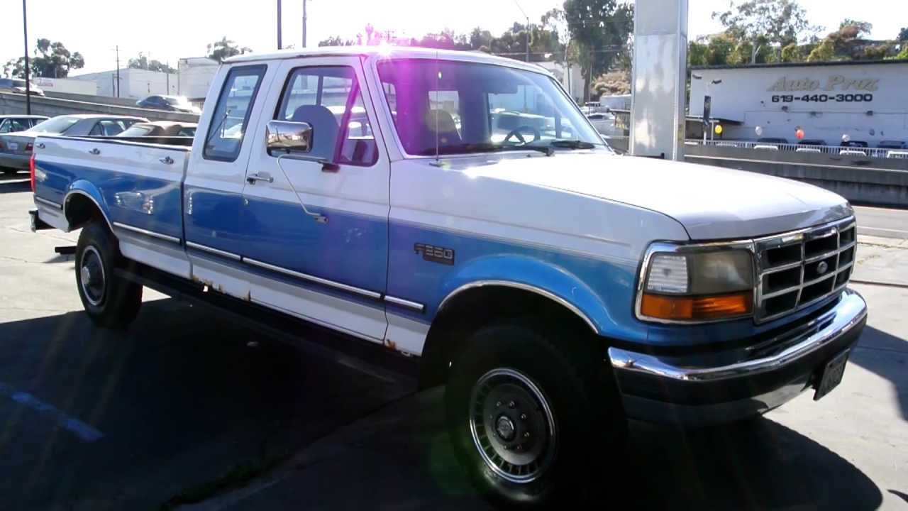 1 Owner Ford 1992 F