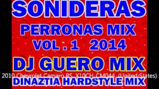 DINAZTIA HARDSTYLE  PA BAILAR CUMBIA SONIDERA MIX 2014 DJ GUERO MIX