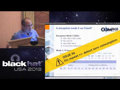 Black Hat 2013 - Energy Fraud and Orchestrated Blackouts: Issues with Wireless Metering Protocols...