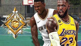LEGEND ZION WILLIAMSON and LEBRON JAMES are a GLITCH in NBA 2K20