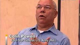 Gen. Colin Powell - Should We Bring Back the Draft?