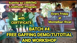 KUMITA AT MAGKAPERA SA  PAGTATARI! LIBRE LANG! BATCH #4 FREE TARI WORKSHOP LESSON AND TUTORIAL.