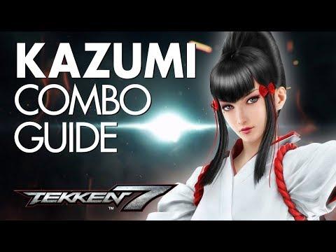 KAZUMI Combo Guide   TEKKEN 7