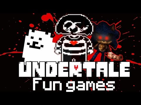 Убиваем фан персонажей в Undertale ! [ Sonic.exe , Chara , Toby Fox Dog ]