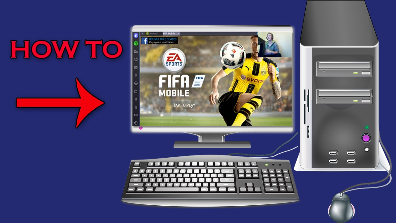 How To Play Fifa Mobile Soccer On