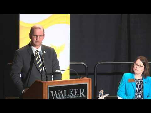Walker College of Business 60th Boyles Lecture