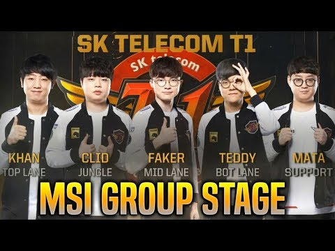 SKT T1 MSI 2019 MONTAGE - BEST OF SKT T1 in MSI GROUP STAGE