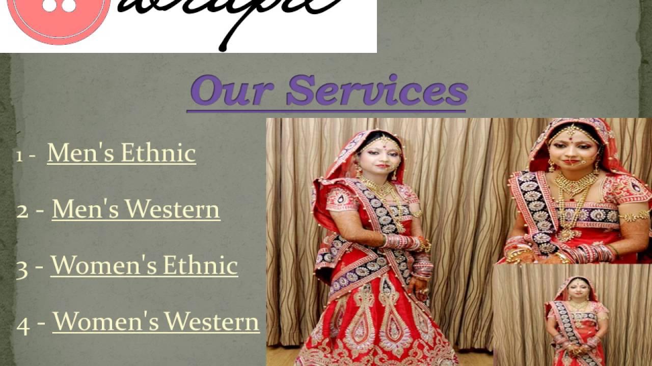 Wrapd Wedding Dresses On Rent In Delhi Youtube