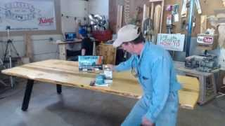 Manitou Brewing Company Banquet Table Build, Live! With Mitchell Dillman
