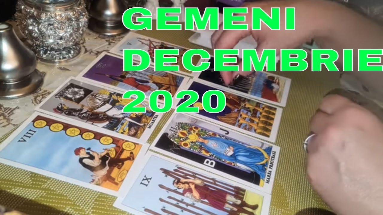 ♊ Zodia GEMENI / DECEMBRIE - 2020/Previziuni Tarot ♊
