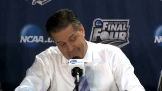 Kentucky Press Conference after win vs. Wisconsin