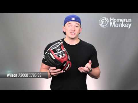 Wilson A2000 1786 SS Baseball Glove