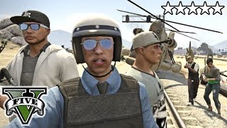 GTA 5 Online COPS  AND ROBBERS!! Crew Livestream - GTA V w/ Subscribers