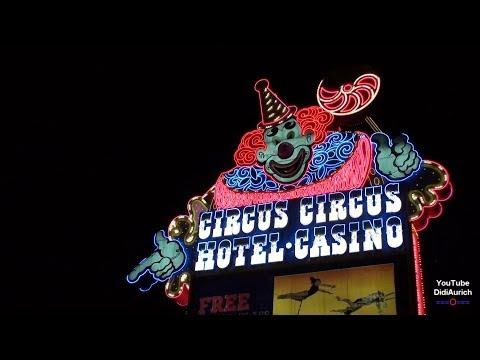 USA Las Vegas Strip Circus Circus Hotel und Casino Rundgang Nevada Adventuredome Zirkusvorführungen