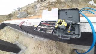 S01E28 Jak wybudować dom? Przepust pod rurę wodną PE32. Budowa domu 2017