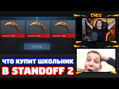 ЧТО КУПИТ ШКОЛЬНИК НА 1000 ГОЛДЫ В STANDOFF 2!