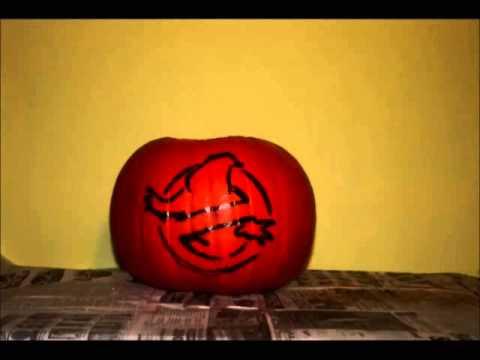 Ghostbusters Pumpkin Stop Motion