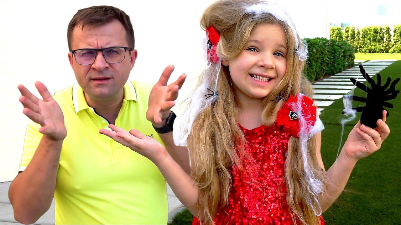 Diana y Papá Historia divertida sobre Cortes de Cabello