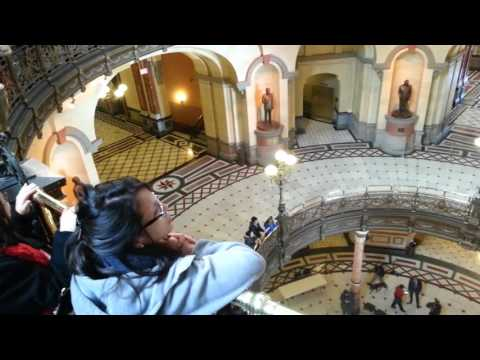 Rally at Illinois State Capitol for Higher Education - 1