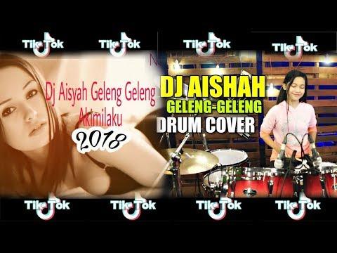 DJ AISYAH GELENG GELENG Drum Cover By Nur Amira Syahira (TIK TOK)