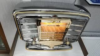 1951 SNR Excelsior Vintage Radio Restored + Chromed Vol1