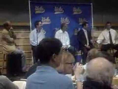 Wayne Cook and Cade McNown talk about UCLA