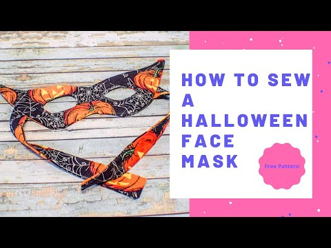 How to Make a Halloween Mask
