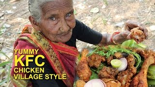 VILLAGE KFC CHICKEN | YUMMY FRIED CHICKEN BY OUR GRANNY