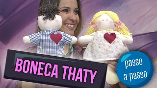 Repeat youtube video Boneca Thaty por Vanda Marconi - 04/09/2013 - Mulher.com