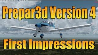 PREPAR3d V4 - FIRST IMPRESSIONS
