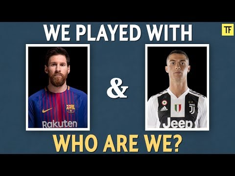 Football Quiz: Guess The Players Who Played With Messi and Ronaldo