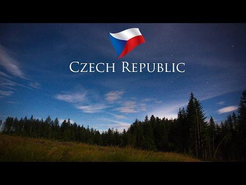 Národní Park Šumava. Krásy České republiky. Plešné jezero. A. Stifter column.
