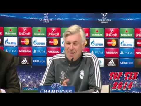 Funny || Ancelotti and Marcello in a press conference