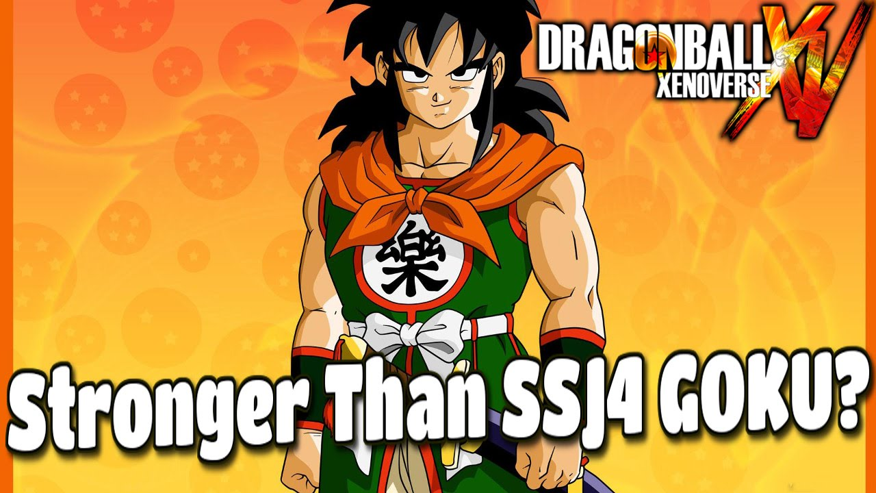 Yamcha Stronger Than Goku Ssj4 Youtube