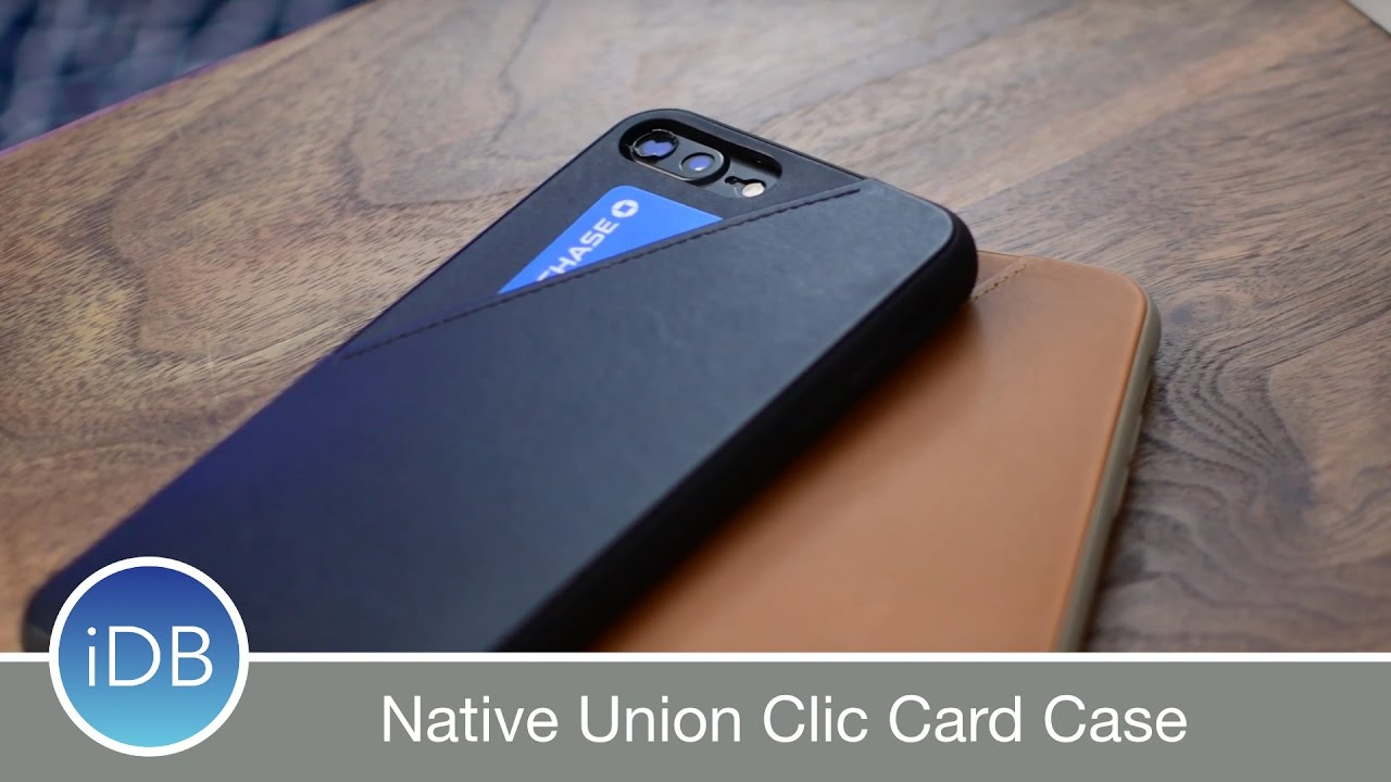 new concept 793e4 b8133 Keep A Card Handy with Native Union's Clic Card iPhone Case