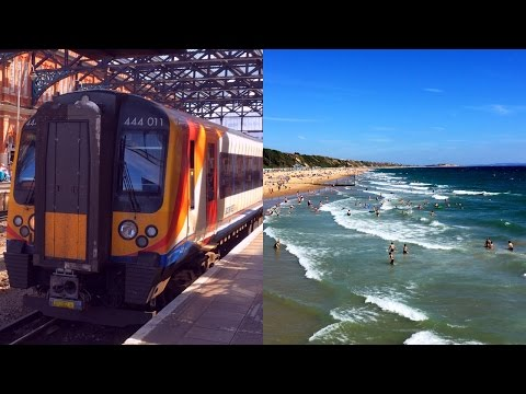 To Bournemouth Beach with South West Trains from London Waterloo