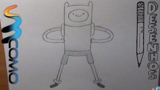 Como desenhar o Finn da Hora de Aventura