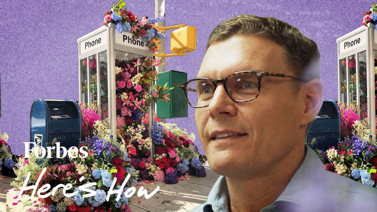 Here's How The Florist Behind New York's Flower Flash Built His Business | Here' s How
